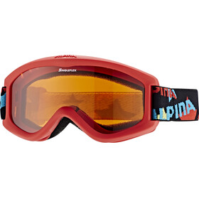 Alpina Carvy 2.0 Goggle Kids SLT S2/red